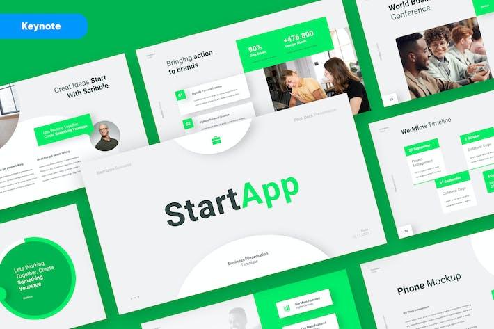 Thumbnail for STARTAPP - Business Startup Keynote Template
