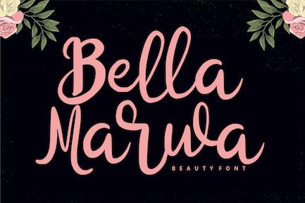 Bella Marwa - Beauty Font
