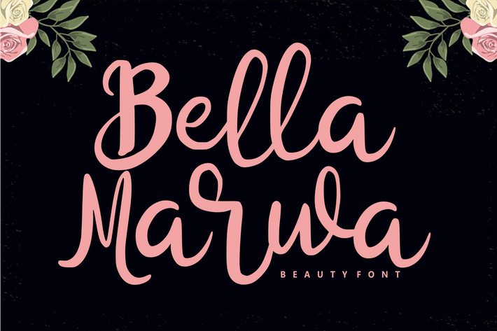 Thumbnail for Bella Marwa - Beauty Font