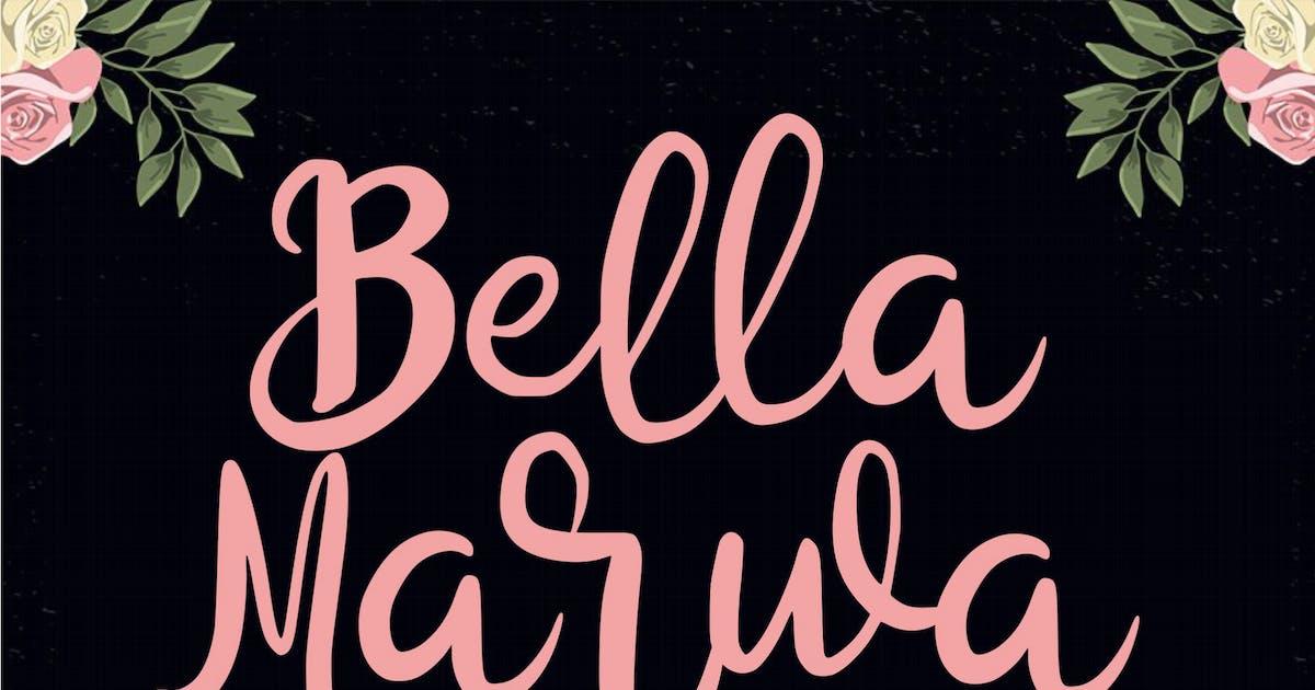 Download Bella Marwa - Beauty Font by IanMikraz