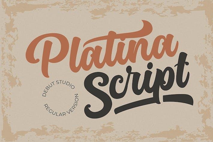 Thumbnail for Platina Script