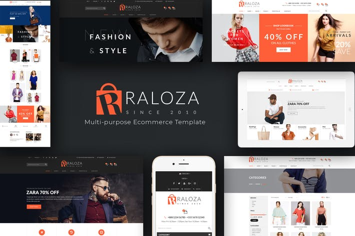 Thumbnail for Raloza - Fashion Responsive PrestaShop Thème
