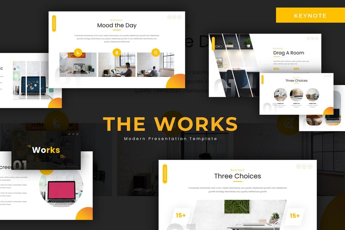 Thumbnail for Works - Keynote Template