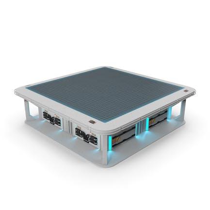 Sci-Fi Hologram Table
