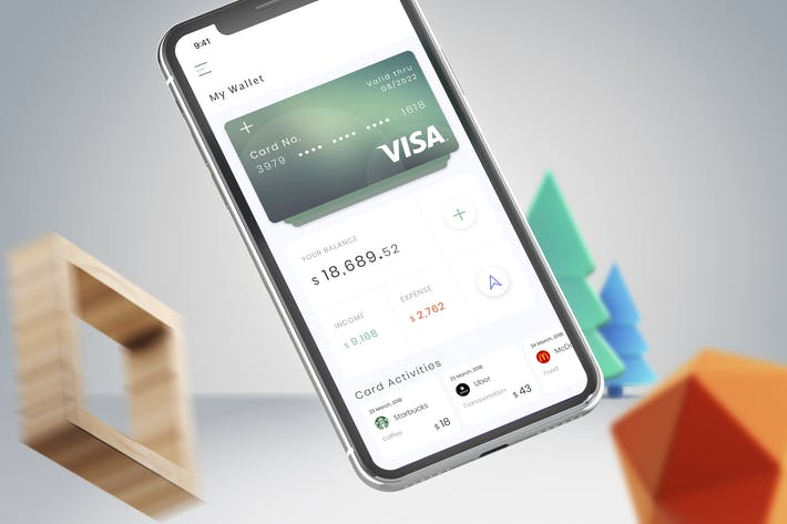 Thumbnail for Wallet Card Mobile Ui - B