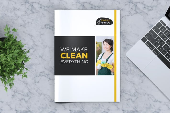 Thumbnail for Cleaning Service Company Brochure