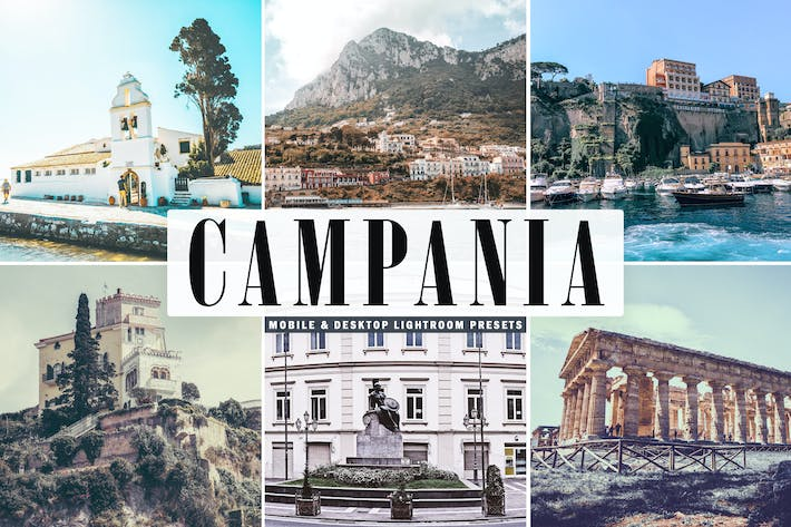 Thumbnail for Campania Mobile & Desktop Lightroom Presets