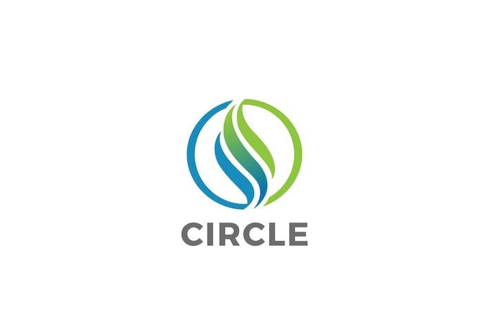 Thumbnail for Logo Circle Abstract Wave