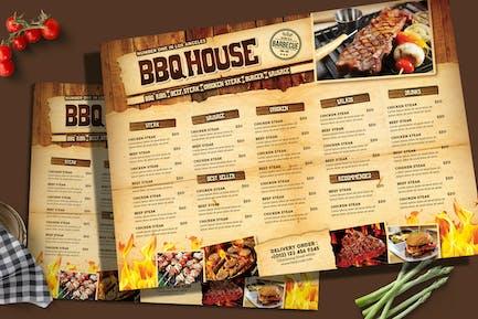 BBQ & Steak Menü
