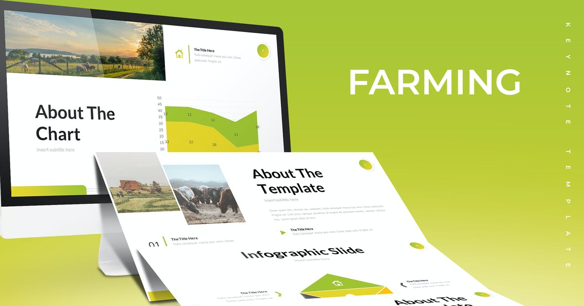 Download Farming - Keynote Template by aqrstudio