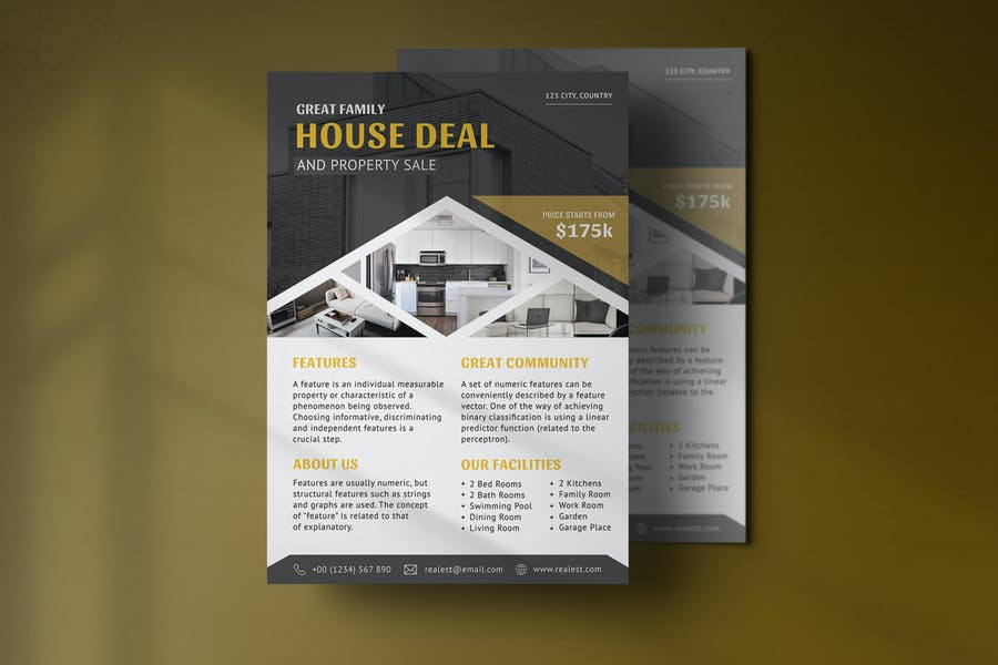 Business Property Flyer