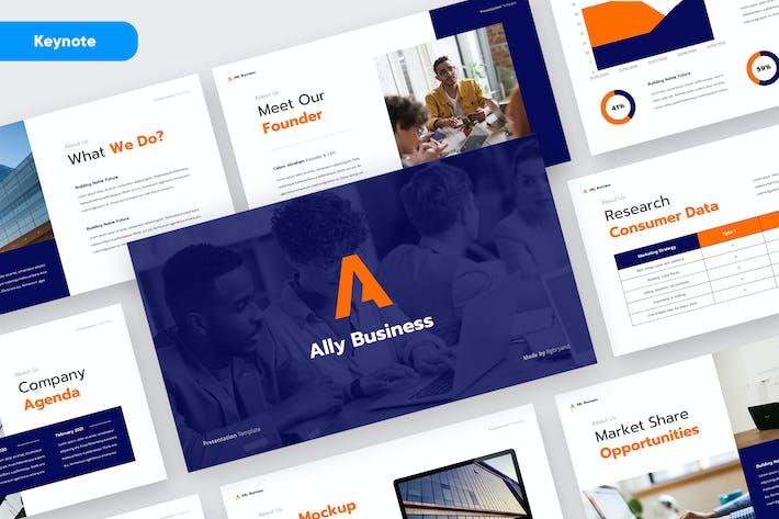 ALLY - Business Plan Keynote