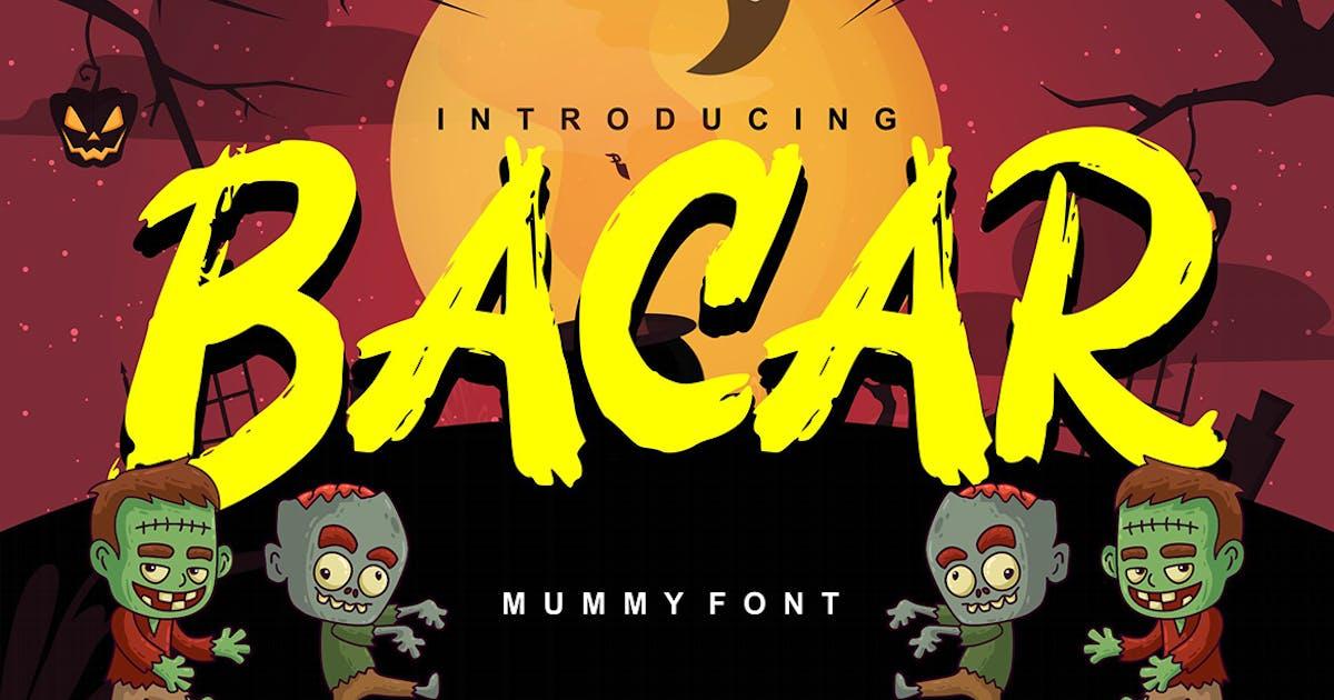 Download Bacar | Hallowen Theme Font by Vunira