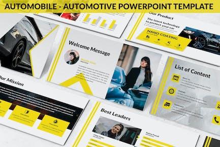 Automobile - Automotive Powerpoint Template