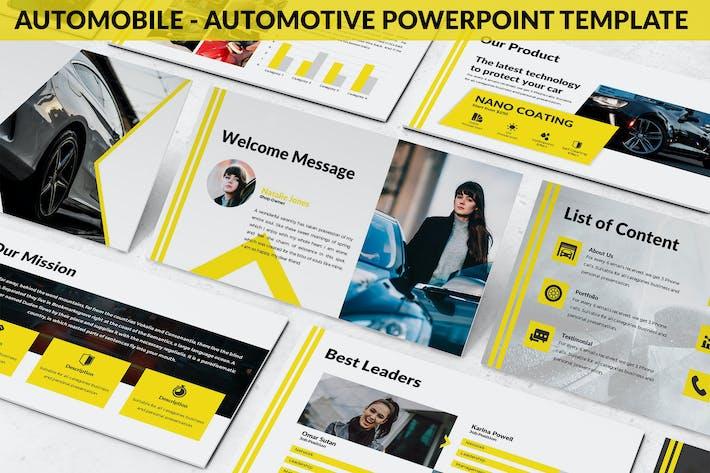 Thumbnail for Automobile - Automotive Powerpoint Template