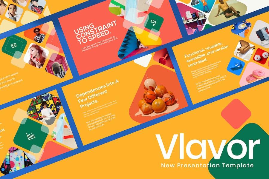 Vlavor - Pastel Creative Powerpoint