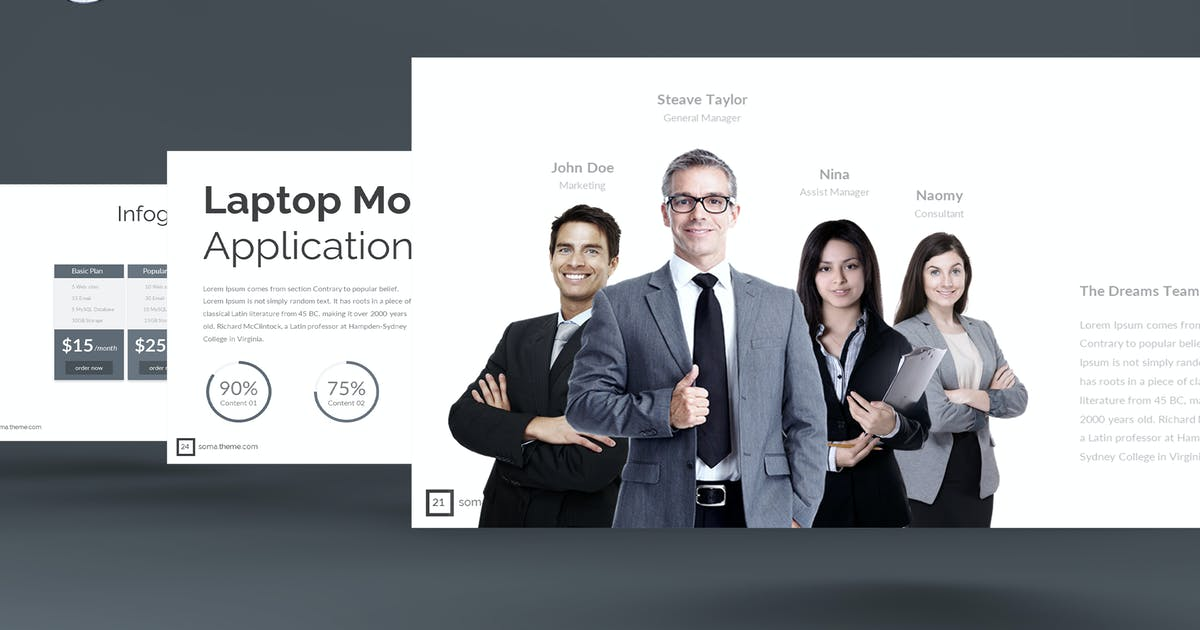 Download Soma - Keynote Template by inspirasign