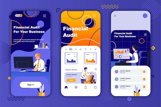 Finance Instagram Stories Onboarding Screens