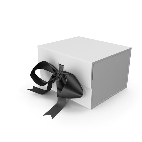 Box with Ribbon Closures