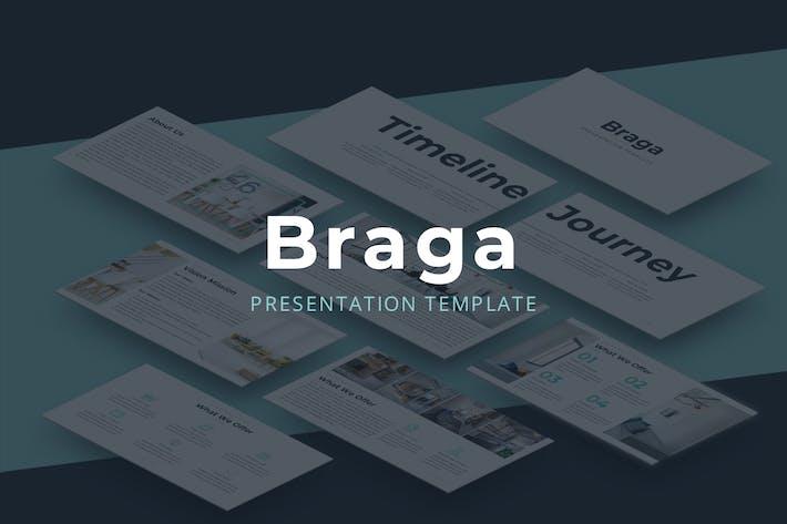 Thumbnail for Брага - Шаблон Keynote