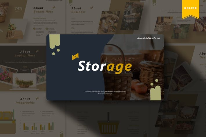 Thumbnail for Storage | Google Slides Template