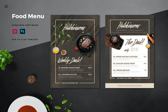 Thumbnail for Restaurant Flyer