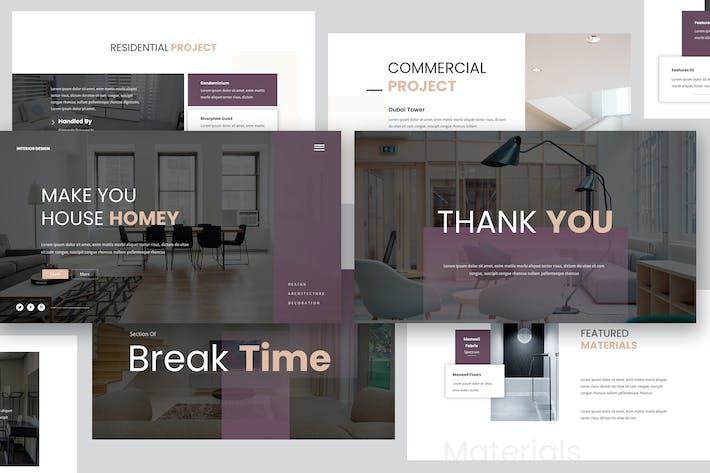 Thumbnail for Interior Design Keynote Presentation