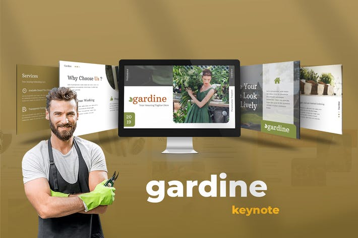 Thumbnail for Gardine - Home Gardening Keynote Presentation