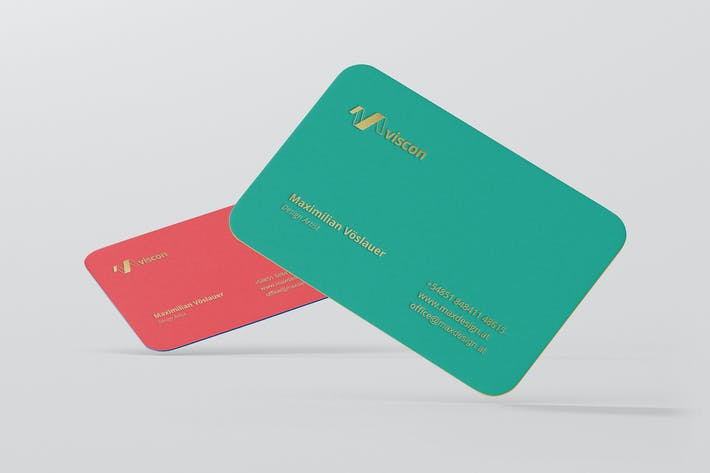 Business card mockup round corners by visconbiz on envato elements cover image for business card mockup round corners reheart Image collections