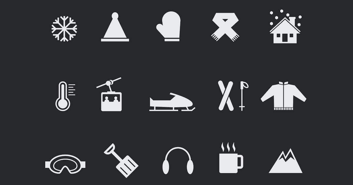 Download 15 Winter and Snow Icons by creativevip
