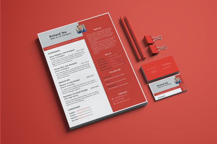 Thumbnail for Resume / CV Template-10