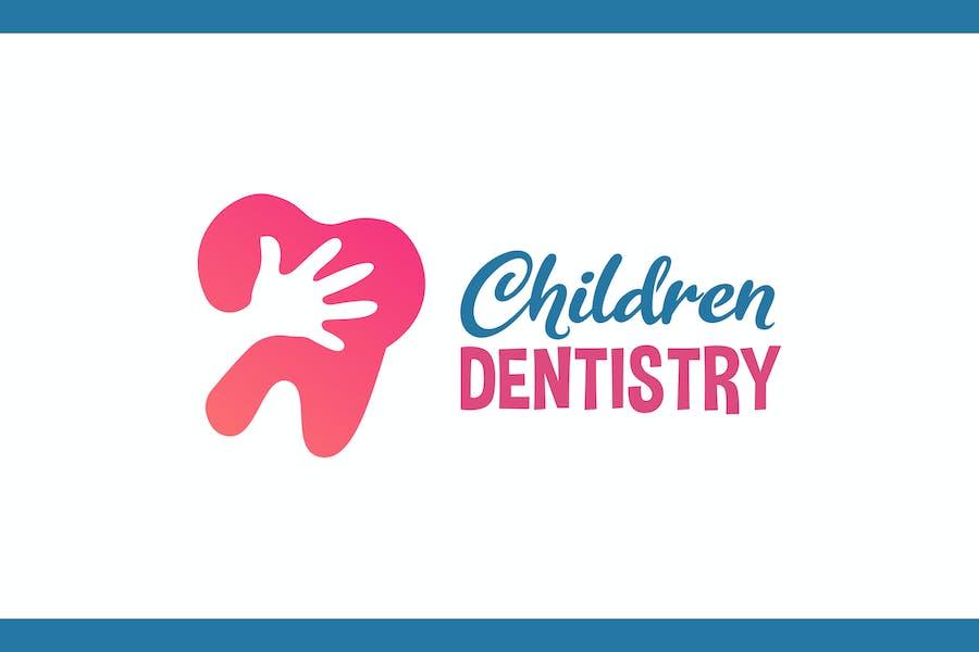 Children Dentistry - Medical & Health Logo