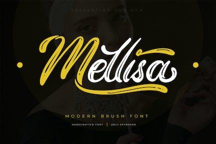 Mellisa   Modern Brush Font