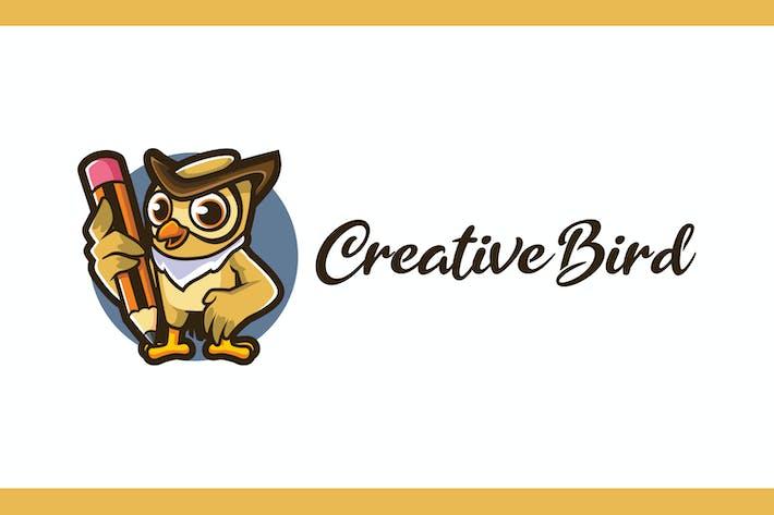 Thumbnail for Cartoon Creative Bird Mascot logo