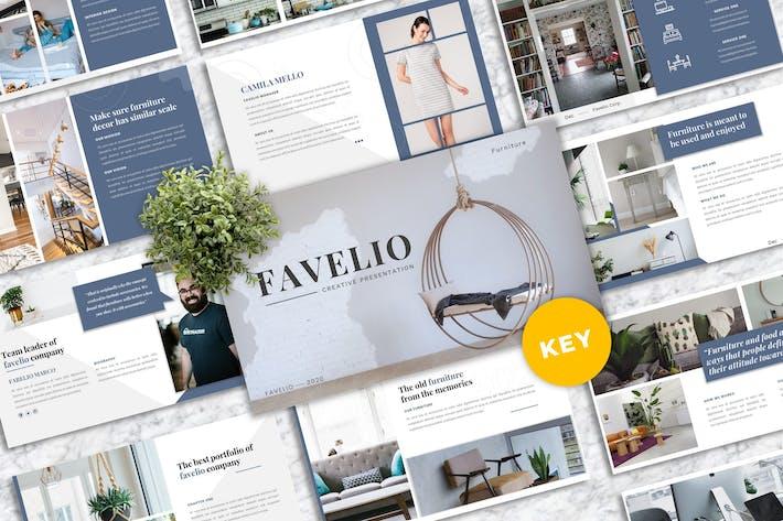 Favelio – Creative Business Keynote Template