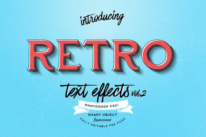 Retro Text Effects vol.2