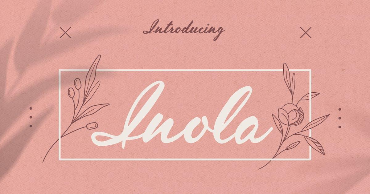 Download Inola Handlettered Font by WildOnes