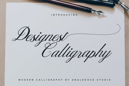 Caligrafía Designest