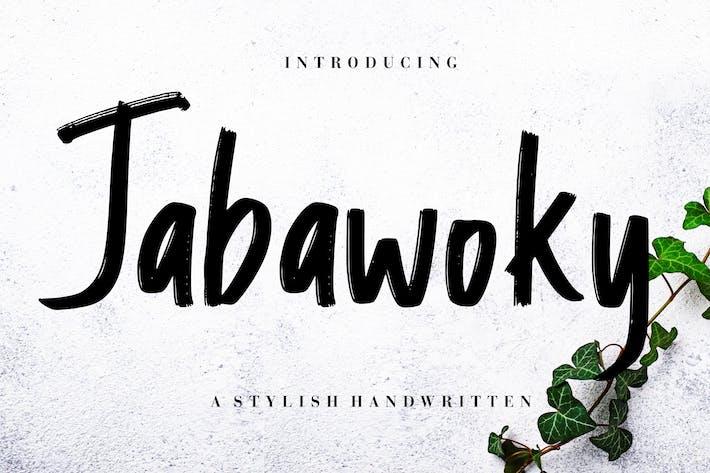 Thumbnail for Jabawoky elegante escrito a mano.