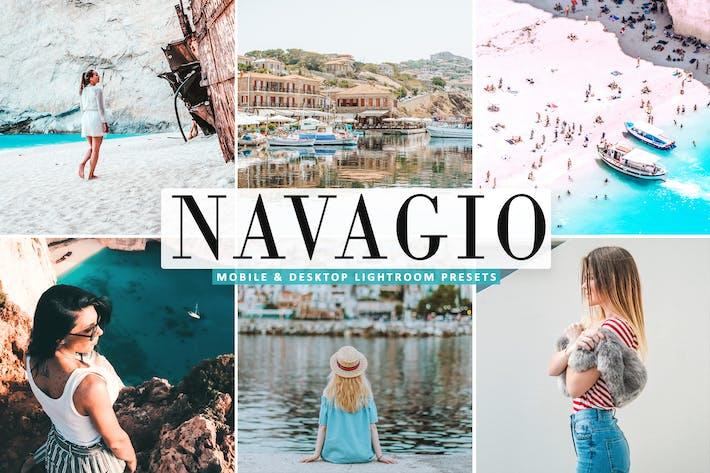 Thumbnail for Navagio Mobile & Desktop Lightroom Presets