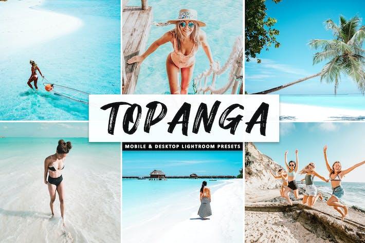 Cover Image For Topanga Mobile & Desktop Lightroom Presets