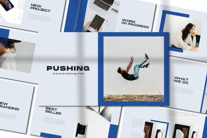Pushing - Минимальная презентация