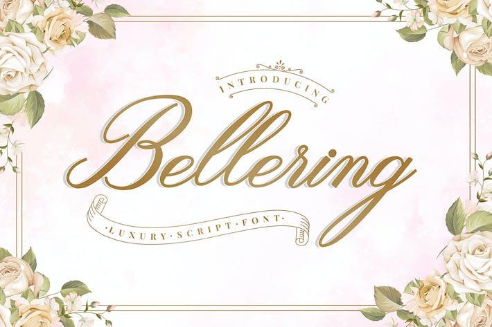 Thumbnail for Bellering Script Font