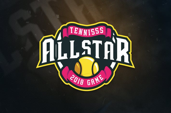 Thumbnail for Tennis All Stars Sports Logo