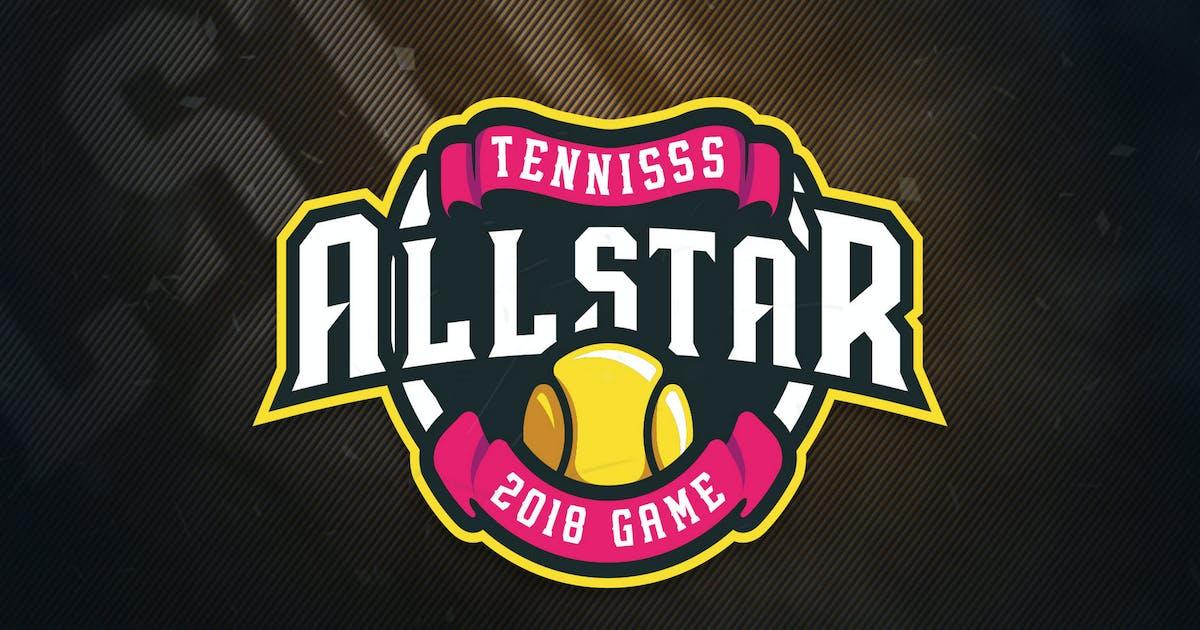 Download Tennis All Stars Sports Logo by ovozdigital