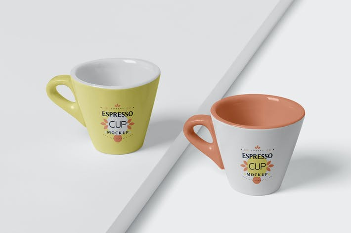 Thumbnail for Espresso Cup Mockup - Cone Shaped - Small