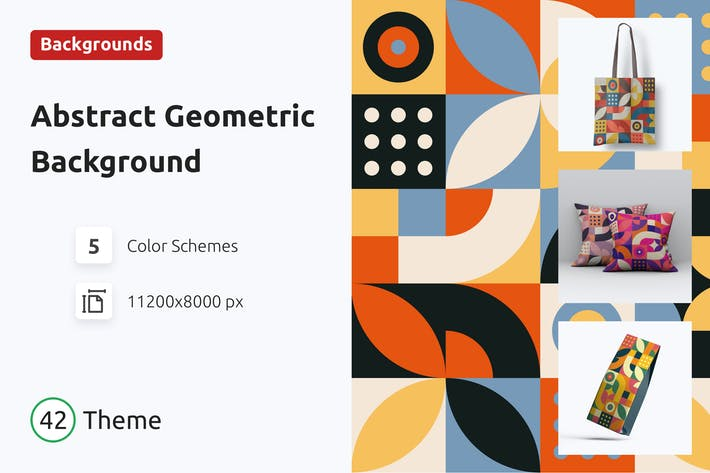 Thumbnail for Abstract Geometric Background