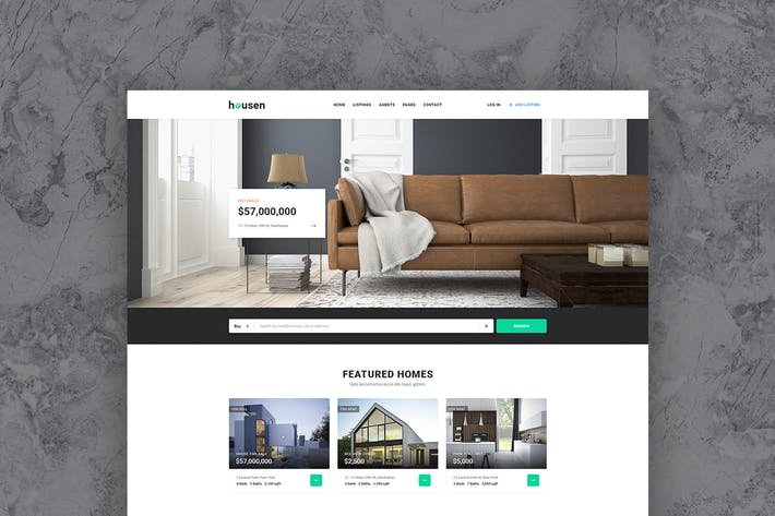Cover Image For Housen - Real Estate Template