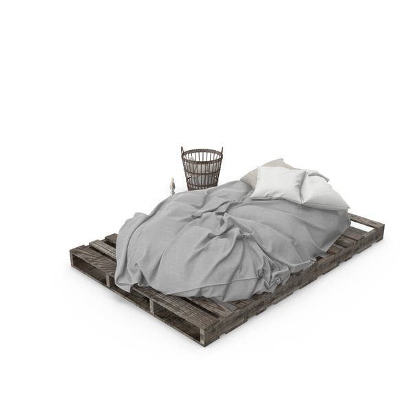 Thumbnail for Pallet Bed Set