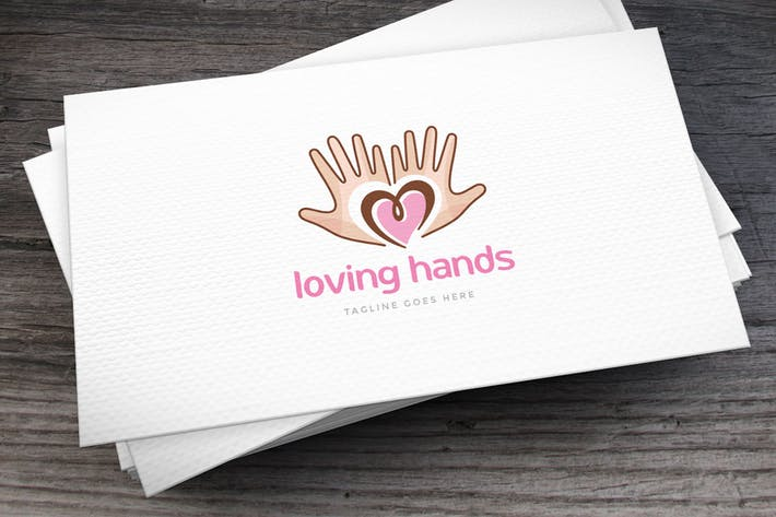Thumbnail for Loving Hands Logo Template